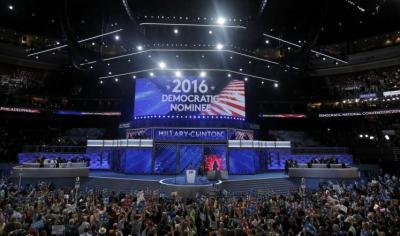 الحزب الديمقراطي يرشح كلينتون رسميا للرئاسة
