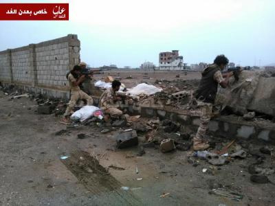 تفاصيل الإشتباكات المسلحة التي إندلعت منذ صباح اليوم في عدن ( صورة)