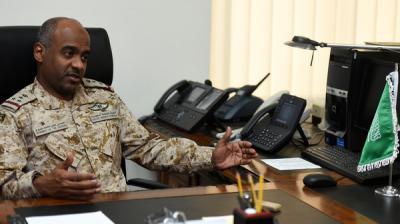 """تصريح لناطق التحالف العميد """" أحمد عسيري """" حول إستمرار العمليات العسكرية في اليمن ووضع المواجهات على الحدود"""