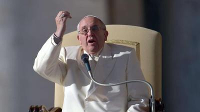 البابا: لا علاقة بين الإسلام والتطرف