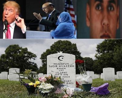 قصة كابتن مسلم ضحى لأجل أميركا وأهان ترامب عائلته