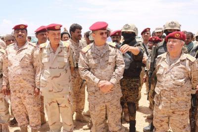 رئيس الأركان اللواء المقدشي : قريبا ستصل قوات الجيش الوطني حرف سفيان في عمران والى صعدة ( صورة)