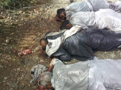 محمد علي الحوثي يعترف بالجريمة التي أقدم عليها مسلحون حوثيون بإختطاف وإعدام وجهاء آل عمر بمحافظة البيضاء