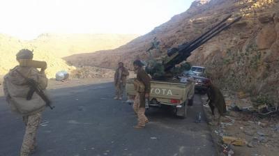 الجيش والمقاومة يسيطران على مواقع جديدة في نهم شرق العاصمة صنعاء