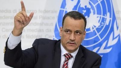 المبعوث الأممي ولد الشيخ : لم نفشل ونسعى لحل شامل في اليمن