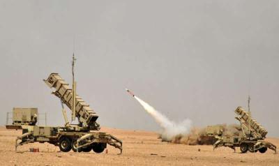 إطلاق صاروخين باليستيين على السعودية