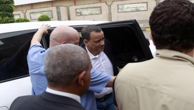 ولد الشيخ يصل الإمارات بعد زيارة بن دغر ووفد المؤتمر في مشاورات الكويت