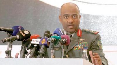 """ناطق التحالف """" عسيري """" يعلق على دعوة الحوثيين وصالح لعقد جلسة للبرلمان والمخلافي يصفها بغير القانونية"""