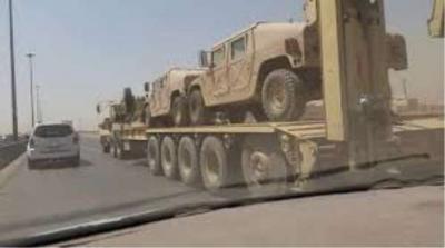 وصول تعزيزات عسكرية كبيرة إلى مأرب