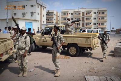 أمن عدن يحقق أكبر إنجاز أمني ويلقي القبض على عدداً من أعضاء تنظيم القاعدة من بينهم السائق الشخصي لقائد التنظيم في المنطقة