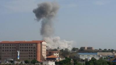 بالصور : أسماء المواقع التي استهدفها طيران التحالف صباح اليوم في العاصمة صنعاء