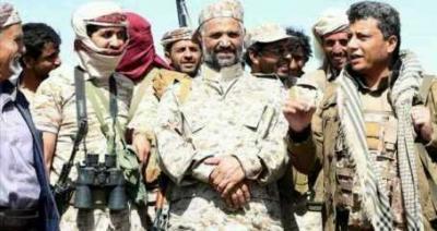 ناطق المقاومة بصنعاء يكشف عن الحالة الصحية لقائد المقاومة بصنعاء الشيخ منصور الحنق بعد إصابته في نهم
