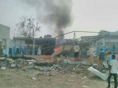التحالف العربي يفتح تحقيقاً في قصف مستشفى في اليمن ( صور)