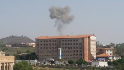 بالصور ..  أسماء المواقع التي استهدفها طيران التحالف قبل قليل في العاصمة صنعاء وضواحيها