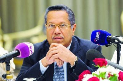 بن دغر يكشف عن إنعقاد جلسات للبرلمان اليمني رداً على الجلسات التي شرعنة للمجلس السياسي التابع للحوثيين وصالح