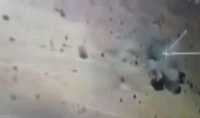 شاهد الفيديو الذي نشرته عمليات الجيش السعودي أثناء تدمير منصة ومخازن صواريخ على الحدود اليمنية السعودية