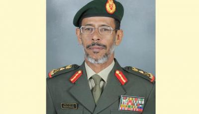 رئيس أركان القوات المسلحة الإماراتية يصل اليمن