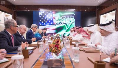 إجتماع سعودي - أمريكي في مدينة جدة  وملفات اليمن وسوريا تتصدر المباحثات ( صوره)