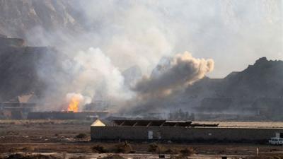 أسماء المواقع التي استهدفها طيران التحالف اليوم في محيط العاصمة صنعاء