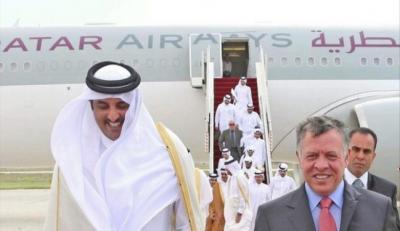صحيفة : قطر ترفض استقبال مبعوث ملك الأردن  .. لهذا السبب