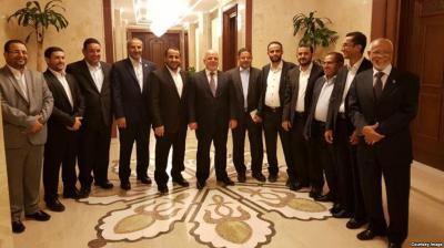 الرئاسة اليمنية تكشف موقفها من إستقبال الرئيس العراقي ورئيس الوزراء لوفد الحوثيين وسياسي عراقي يكشف الخطأ الذي إرتكبته القيادة العراقية