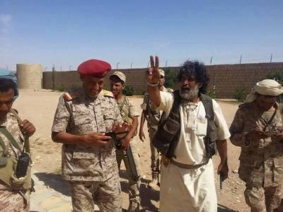 """الجيش والمقاومة في الجوف بقيادة المحافظ """" العكيمي """" يسيطران على مواقع إستراتيجية"""