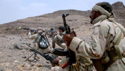 تفاصيل إحباط تسلل حوثيين إلى منطقة الجبالي المطلة على الضباب بتعز
