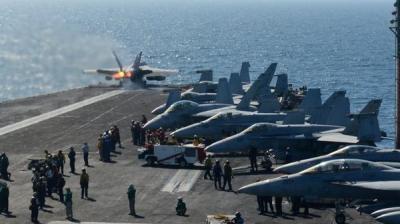 عشرات القتلى في قصف أمريكي إستهدف الجيش السوري وتوتر أمريكي روسي عقب تلك الغارات