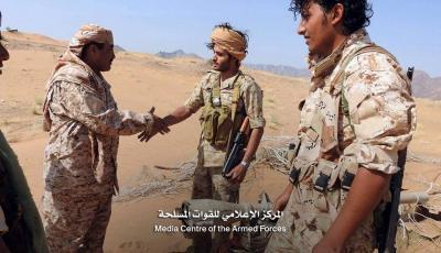 قوات الجيش والمقاومة تتقدم وتحقق تقدماً في صرواح وتواصل قطع طرق الإمدادات على الحوثيين