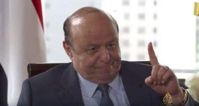 """أبرز ما قاله الرئيس هادي في مقابلته مع """" الجزيرة """" .. هدد الرئس السابق صالح بكشف أسراره وماذا قال له الرئيس بوتين"""
