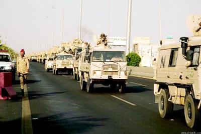 السعودية تدفع بقوات جديدة إلى نجران