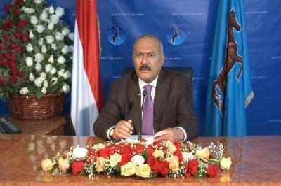"""أبرز ما قاله الرئيس السابق """" صالح """" في خطابه"""