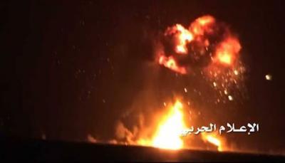بيان صادر عن قيادة التحالف بشأن إستهداف الحوثيين لسفينة إماراتية