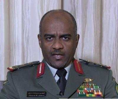 """أول تعليق لناطق التحالف """" أحمد عسيري """" على إستهداف الحوثيين للسفينة الإماراتية ويكشف عن عواقب ذلك الإستهداف"""