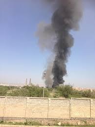 غارات جوية عنيفة تستهدف العاصمة صنعاء ( صور -  المنطقة المستهدفة)