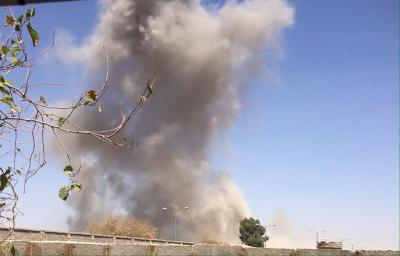 إنفجارات متتالية وعنيفة يسمع دويها شمال العاصمة صنعاء عقب غارات جوية