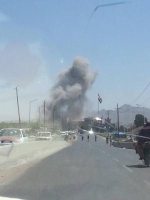 غارات جوية عنيفة تستهدف شمال العاصمة صنعاء ( المواقع المستهدفة )