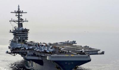 البنتاغون يعلن رسمياً عن وصول 3 سفن حربية إلى قبالة السواحل اليمنية وتوتر يسود المنطقة