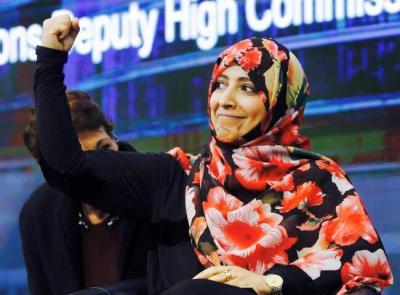 الناشطة اليمنية توكل كرمان تكشف حقيقة الإعتداء عليها في مقر الأمم المتحدة وتوضح ماحدث