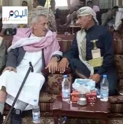 شاهد صورة نادرة للشهيدان اللواء عبد الرب الشدادي والعميد حميد القشيبي