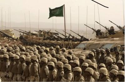 تحشيد عسكري على الحدود السعودية اليمنية