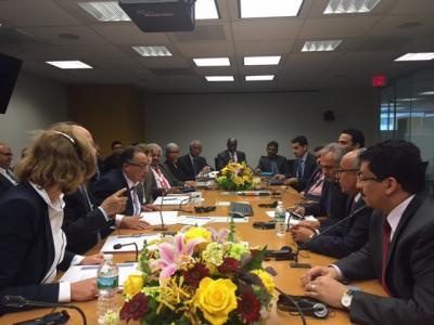 اليمن تشارك في اجتماعات البنك الدولي و صندوق النقد السنوية بنيويورك ( تفاصيل - صورة)