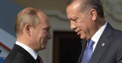 بوتين وأردوغان.. كيف تحول العداء إلى ضحك ومصافحة؟