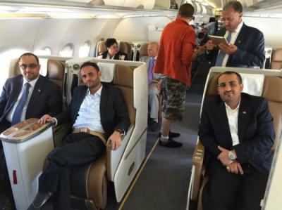 وفد الحوثيين وحزب المؤتمر يصل صنعاء غداً السبت