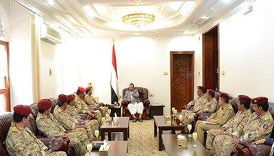 المجلس السياسي الأعلى التابع للحوثيين وصالح  يستنفر القوات العسكرية بصعدة مع تقدم الجيش والمقاومة ( صوره)