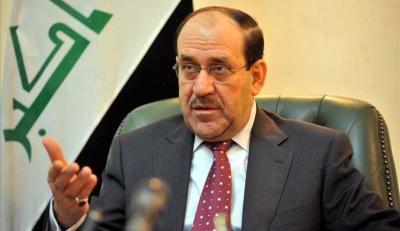 """رئيس الوزراء العراقي الأسبق """" المالكي """" : معركتنا في اليمن وسوريا والعراق هي واحدة ودوافعها واحدة !"""
