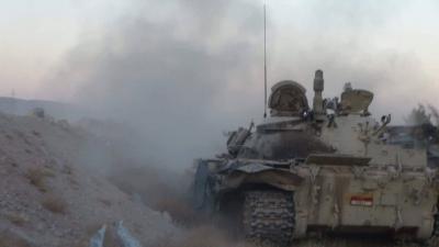 تقدم للجيش والمقاومة في جبهة نهم شرق العاصمة صنعاء ( أسماء المناطق)