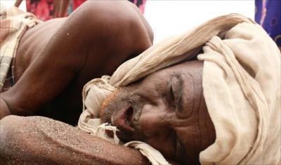 صحيفة ديلي تلغراف تعلق على صور الجياع  في اليمن وتحمّل طرفي الصراع المسؤولية