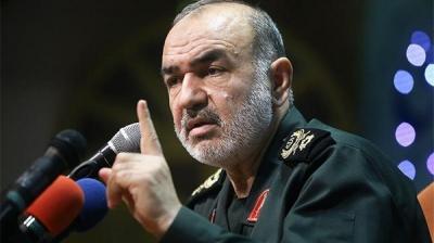 نائب قائد الحرس الثوري الإيراني : حدودنا وصلت للبحر الأحمر والأبيض المتوسط
