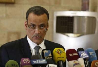 ولد الشيخ يغادر صنعاء ومصادر تؤكد فشل لقاءاته مع وفد الحوثيين وصالح